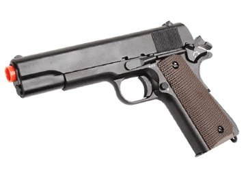 Yt385 Spring Metal Airsoft 1911 Pistol Gun FPS 