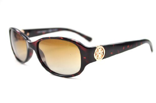Tory Burch Tory Burch Sunglasses Ty9013 510/T5 Dk Tortoise Brown Gradient Polarized