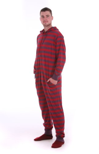 Where can i buy footie pajamas for adults