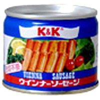 K&K ウインナーソーセージ EO缶 105G×48個