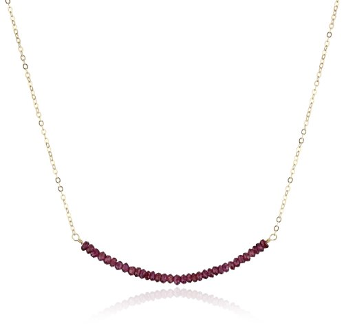 Urban Posh Rhodolite Garnet Pixie Necklace