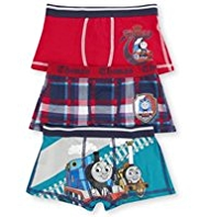 3 Pack Cotton Rich Thomas & Friends© Trunks