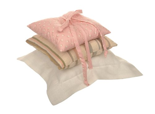 Cotton Tale Designs Blossom Pillow Pack, Pink/Brown