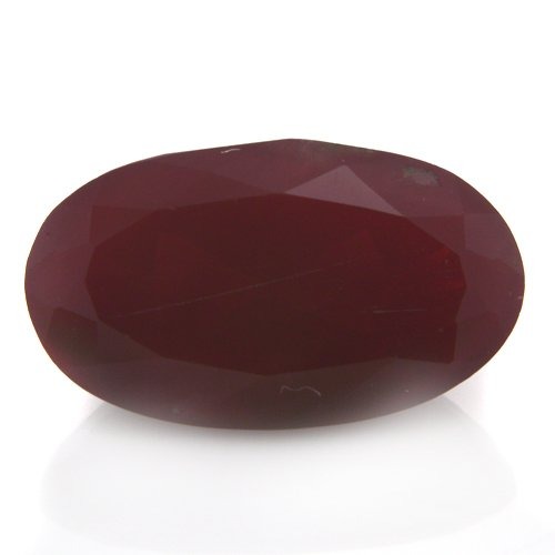 Natural Africa Red Andesine Loose Gemstone Oval Cut 13*8mm 3.95cts SI Grade