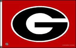 University of Georgia Oval G Flag - Buy University of Georgia Oval G Flag - Purchase University of Georgia Oval G Flag (Rico Inc, Home & Garden,Categories,Patio Lawn & Garden,Outdoor Decor,Banners & Flags)