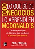Todo Lo Que S Del Negocio Lo Aprend En Macdonald&#8217;s