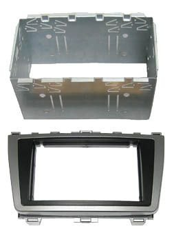Adaptateur autoradio 2 DIN + cage pour Mazda 6