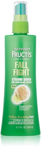 Garnier Fructis Fall Fight Strand Saver Anti-Breakage Spray Treatment for Falling Breaking Hair, 5.1 Fluid Ounce (Leave In Conditioner Garnier compare prices)