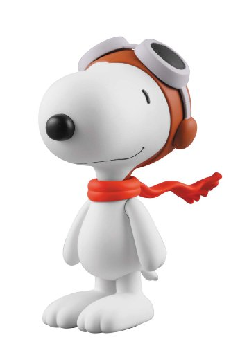 VINYL COLLECTIBLE DOLLS SNOOPY FRYING ACE