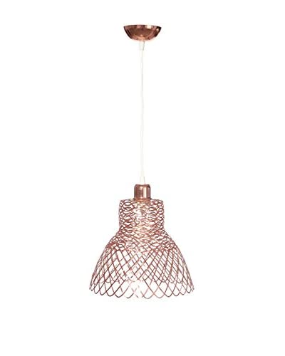 HOME FURNITURE Lámpara De Suspensión Cobre