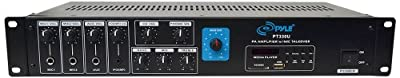 Pyle PT330U 150-Watt Power Amplifier with 70V Output by Sound Around