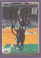 Samaki Walker San Antonio Spurs 2000 Topps Autographed Hand Signed Trading Card -... by Hall+of+Fame+Memorabilia
