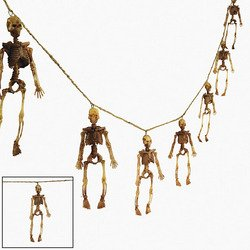 Dangling Skeleton Garland - Halloween Decoration