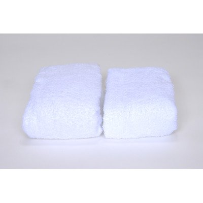 Extra-Thick Cotton Terry Changing Pad Covers - Set of 2 (White)