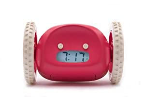 Clocky Alarm Clock Runs Away to Get You Up, Raspberry