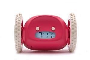 Clocky Alarm Clock Runs Away to Get You Up, Raspberry