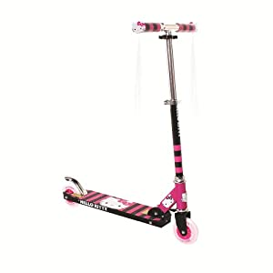 Dynacraft Light Up Scooter - Hello Kitty