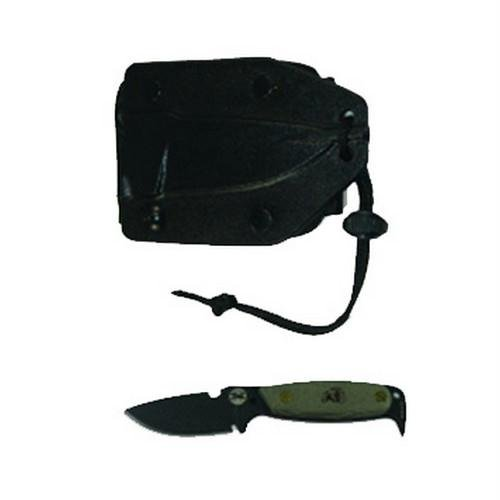 DPx HEST Original fixed blade survival knife. Made by Ontario Knife Company
