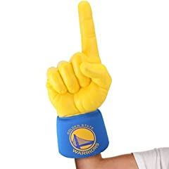 NEW Golden State Warriors #1 Ultimate Fan NBA Foam Hand Finger Officially Licensed by... by Ultimate Hand Authentic Sports Shop