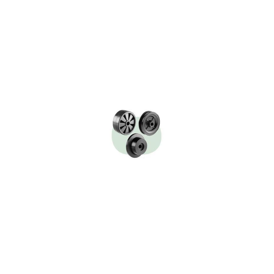 Lanker MRAX9NM7602 Black Nylon 6 Wheels & Rollers