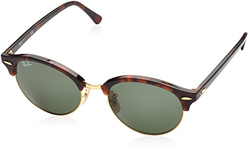 Ray-ban Mod. 4246, Occhiali da Sole Unisex-Adulto, Red Havana (Red Havana), 51