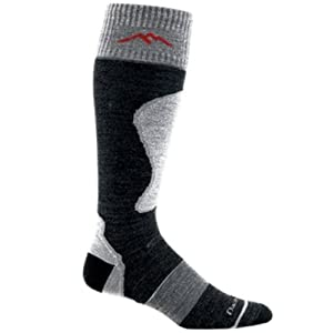 Darn Tough Vermont Mens Merino Wool Over The Calf Padded Cushion Socks