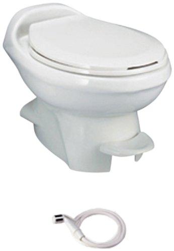 Thetford 34439 Aqua Magic Style Plus Bone Low China Bowl with Water Saver