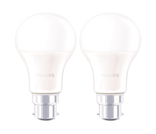 4W LED Bulb (Warm White and Golden Yellow, Pack of 2)