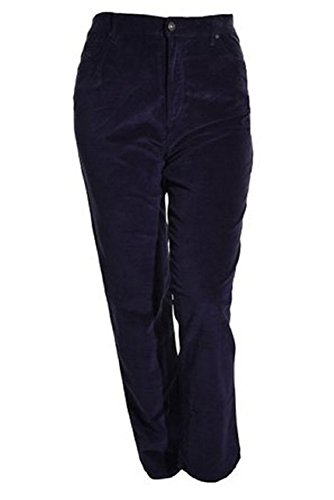 Gloria Vanderbilt Womens Amanda Classic-Fit Pant,Night Watch,6 Average