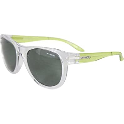 Arnette Blowout Adult Lifestyle Sunglasses/Eyewear - Transparent Margarita/Green / One Size Fits All