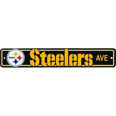 Street Sign Steelers Drive (plastic)