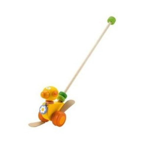 31jbJlZ K6L Cheap Buy  Sevi Push Along Toy, Duck