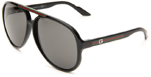GUCCI SUNGLASSES AVIATOR GG 1627 D28R6 BLACK GG1627 Picture