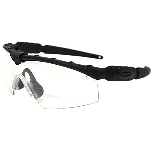 Oakley Industrial M Frame 2.0 Sunglasses, Matte Black/Clear, One Size (Oakley Frame Glasses compare prices)