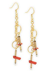 Imagine Red Feng Shui Earrings