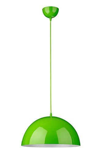 Premier Housewares Lampada a Sospensione, Mars, Verde