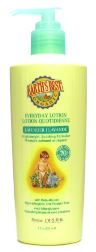 Earths Best Organic Everyday Lotion Lavender - 7 fl oz - Pack of 2 - 1