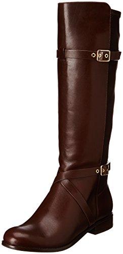 Cole Haan Women's Dorian Stretch Riding Boot,Chestnut,11 B US