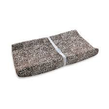 Wendy Bellissimo Sweet Safari Contoured Changing Pad Cover - 1