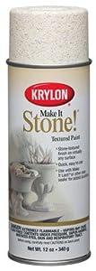 "KRYLON-DIVERSIFIED 18213 ""MAKE IT STONE"" TEXTURED PAINT 12 oz (PACK OF 6)"