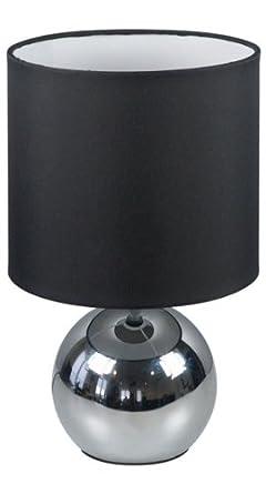 Ranex Intensités 196 Lampe Abat Tissu 3 Touch Jour 6000 Noir Chrome uTl13KcF5J