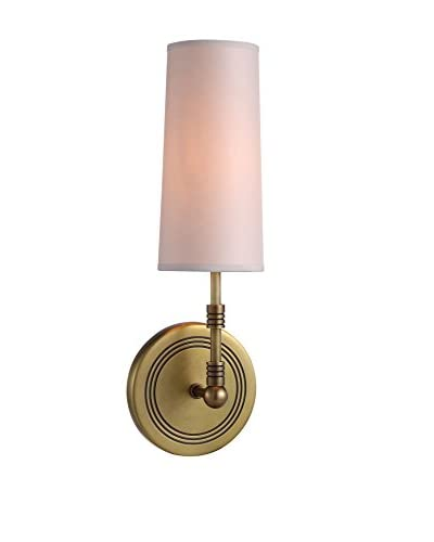 Urban Lights Richmond 1-Light Wall Lamp, Antique Bronze