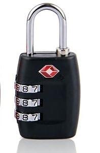 【SWAG ONE】TSAロック 南京錠 (3桁、ダイヤル式ロック、カギ、鍵、海外旅行用)キャリーバック 盗難 犯罪 窃盗 防止 鍵 カギ ロック 暗証番号 海外