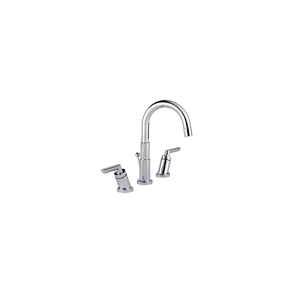 Brizo Trevi Polished Chrome Widespread Lavatory Faucet
