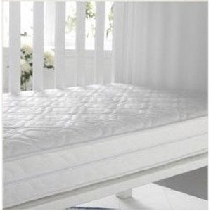KATY® Luxury Microfibre Sprung Hypo Allergenic Cotbed Mattress -140 x 70 x 10cm