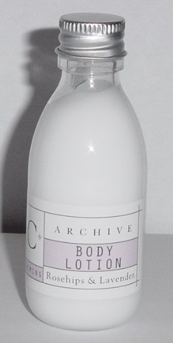 Image of Archive Rose Hips Lavender Calming Body Lotion Lot Of 12 Each 1.5oz Bottles. Total Of 18oz