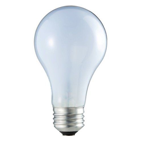 Philips 226951 43-Watt A19 Ecovantage Light Bulb, Natural Light, Dimmable, 2-Pack
