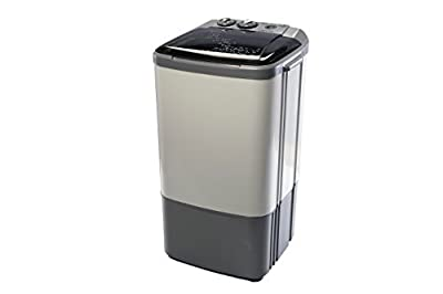 Onida Washer Liliput Semi-automatic Top-loading Washing Machine (6.5 Kg, Smoke Grey)