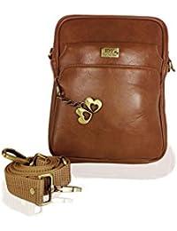 I Define You Brown Color Unisex Sling Bag