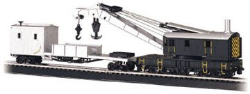 Bachmann Trains Crane And Boom Tender-Ho Scale